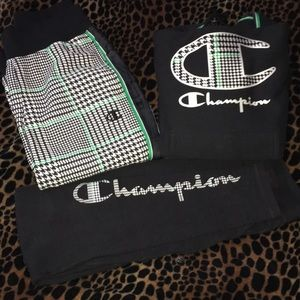 Champion 3 piece outfit